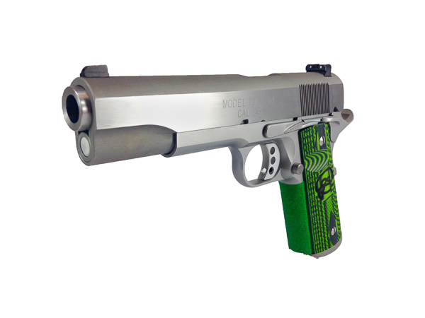 Heavy Barrel Performance	Custom 1911